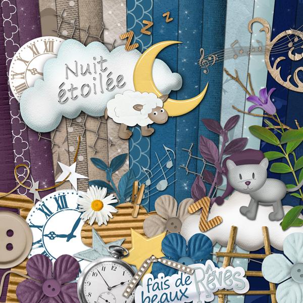 Kit « Nuit étoilée » - 00 - Présentation