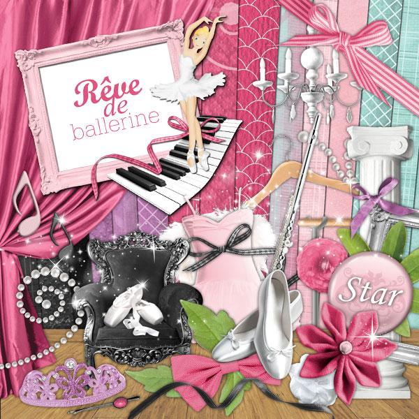 Kit « Rêve de ballerine » - 00 - Présentation