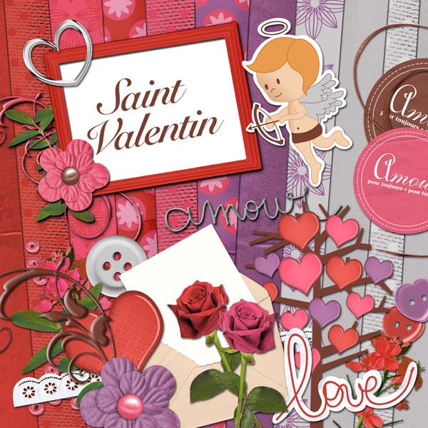 Mini-kit « Saint Valentin » - 00 - Présentation
