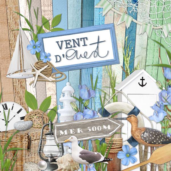 """Kit """"Vent d'Ouest"""""""