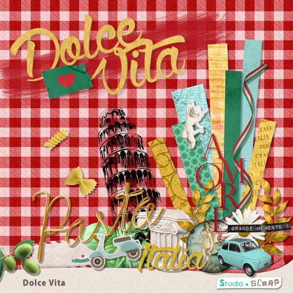 Kit « Dolce Vita » en téléchargement