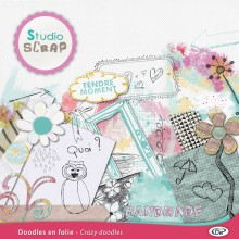 Crazy doodles embellishments 02