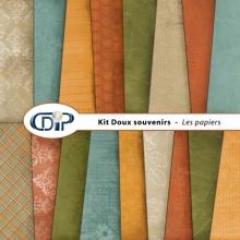 Kit « Doux souvenirs » - 01 - Les textures