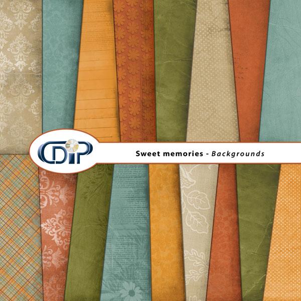 """Sweet memories"" digital kit - 01 - Backgrounds"