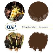 Kit « Esprit de la forêt » - 08 - Les masques