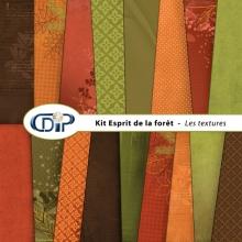 Kit « Esprit de la forêt » - 01 - Les textures