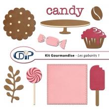 Kit « Gourmandise » - 05 - Les gabarits 1