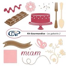 Kit « Gourmandise » - 06 - Les gabarits 2