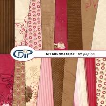 Kit « Gourmandise » - 01 - Les textures