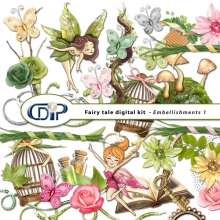 embellishments kit Fairy Tale