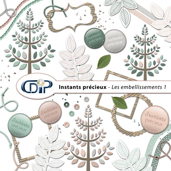 Kit « Instants précieux » - 02 - Les embellissements 1