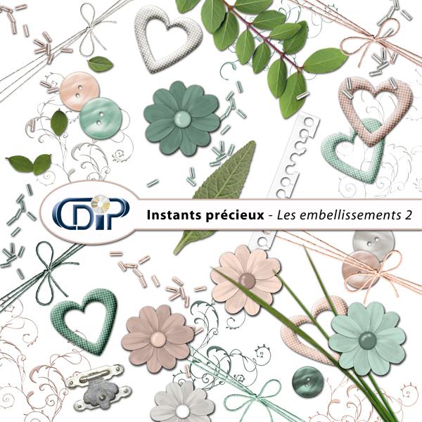 Kit « Instants précieux » - 03 - Les embellissements 2