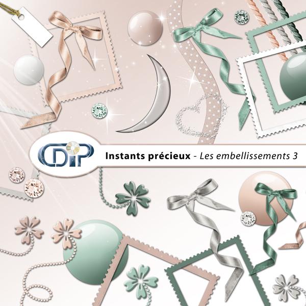 Kit « Instants précieux » - 04 - Les embellissements 3