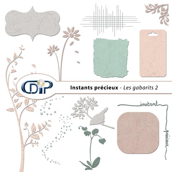 Kit « Instants précieux » - 06 - Les gabarits 2