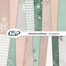 Kit « Instants précieux » - 01 - Les textures