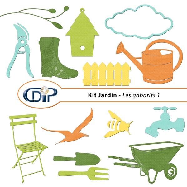 Kit « Jardin »   - 05 - Les gabarits 1