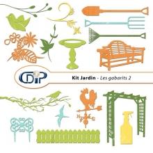 Kit « Jardin »   - 06 - Les gabarits 2