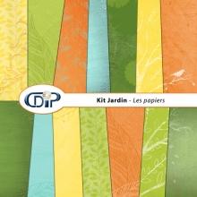 Kit « Jardin »   - 01 - Les textures