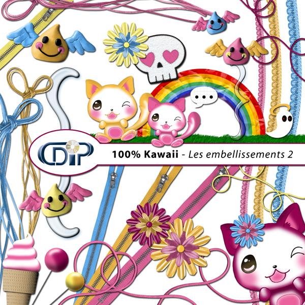 Kit « Kawaii » - 03 - Les embellissements 2