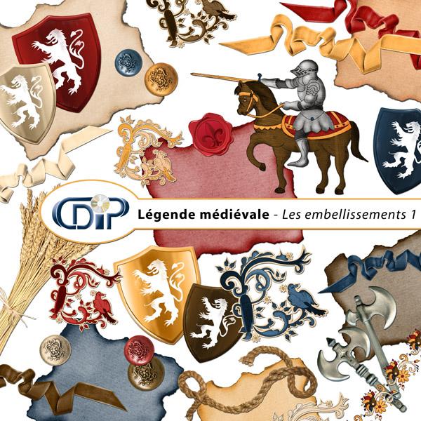 Kit « Légende médiévale » - 02 - Les embellissements 1