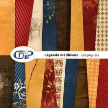 Kit « Légende médiévale » - 01 - Les textures