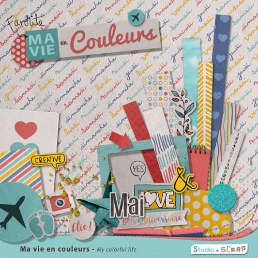 Kit « Ma vie en couleurs »