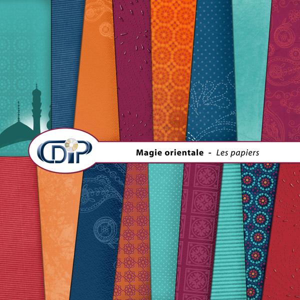 Kit « Magie orientale » - 01 - Les textures