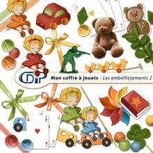 Kit « Mon coffre à jouets » - 03 - Les embellissements 2