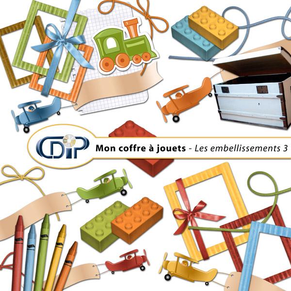 Kit « Mon coffre à jouets » - 04 - Les embellissements 3