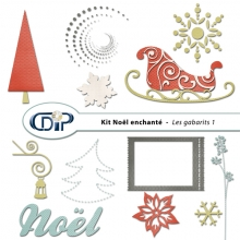 Kit « Noël enchanté » - 05 - Les gabarits 1
