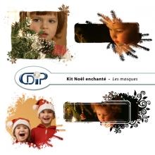 Kit « Noël enchanté » - 08 - Les masques