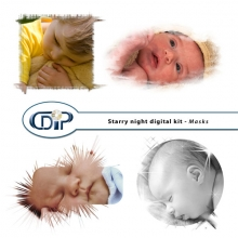"""Starry Night"" digital kit - 08 - Masks"