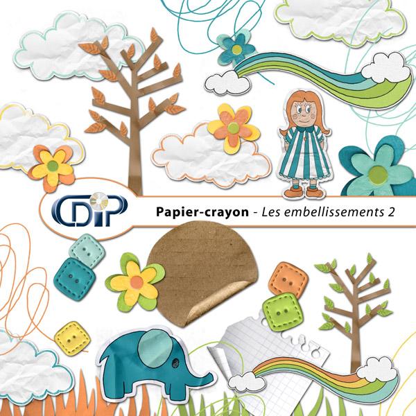 Kit « Papier crayon » - 03 - Les embellissements 2