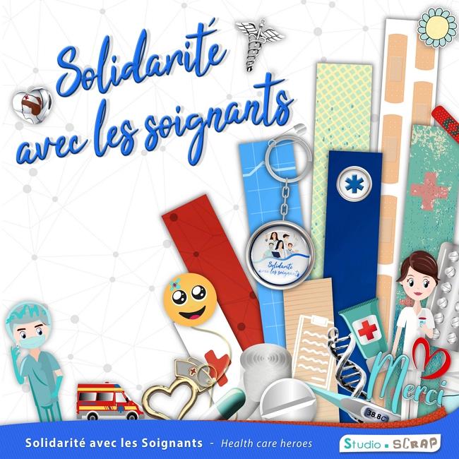 Kit « Solidarité avec les soignants » en téléchargement