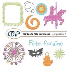 Kit « Que la fête commence » - 05 - Les gabarits 1