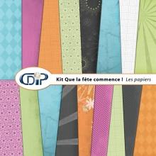 Kit « Que la fête commence » - 01 - Les textures