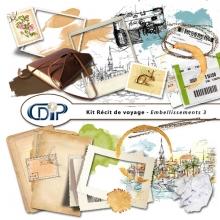 Kit « Récit de voyage » - 04 - Les embellissements 3