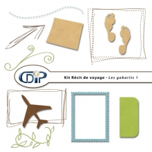 Kit « Récit de voyage » - 06 - Les gabarits 1