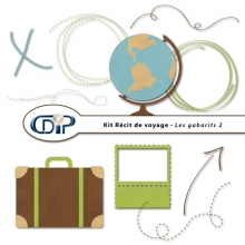 Kit « Récit de voyage » - 07 - Les gabarits 2