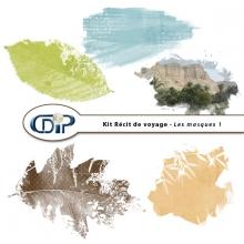 Kit « Récit de voyage » - 09 - Masques