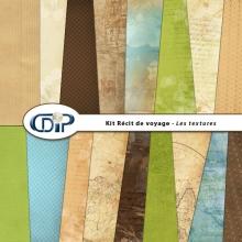 Kit « Récit de voyage » - 01 - Les textures