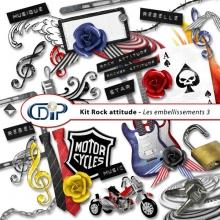 Kit « Rock attitude » - 04 - Les embellissements 3