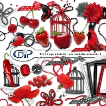 Embellissements du kit digital
