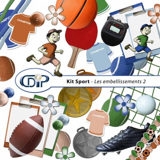 Kit « Sport » - 03 - Les embellissements 2