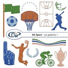 Kit « Sport » - 05 - Les gabarits 1
