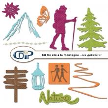Kit « Un été à la montagne » - 05 - Les gabarits 1