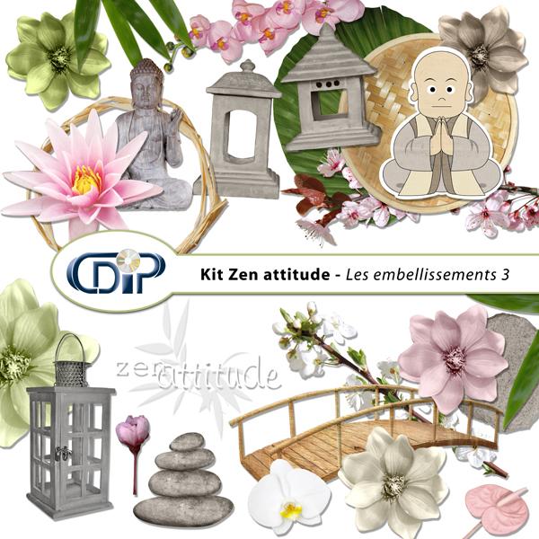 Kit « Zen attitude » - 04 - Les embellissements 3