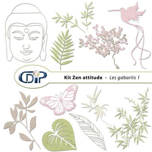 Kit « Zen attitude » - 05 - Les gabarits 1