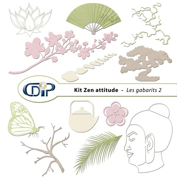 Kit « Zen attitude » - 06 - Les gabarits 2