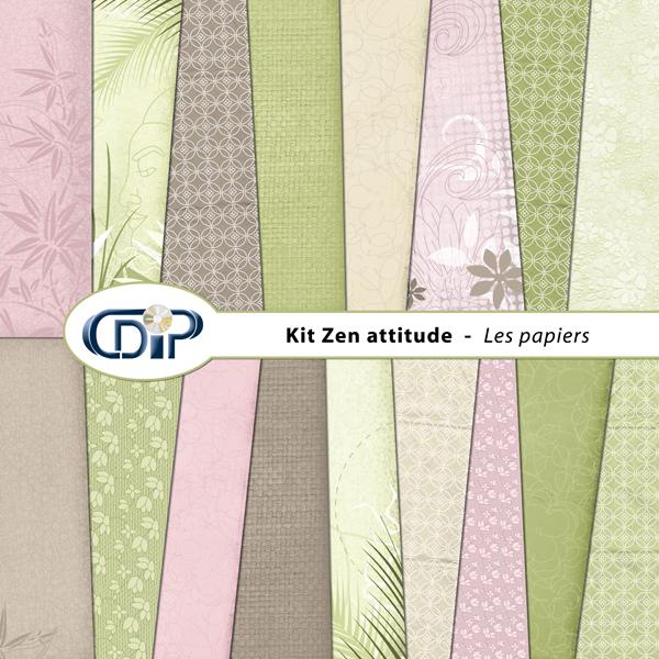 Kit « Zen attitude » - 01 - Les textures